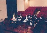 Auditorio del Forte Spagnolo dell'Aquila. Prove di esecuzione con archi